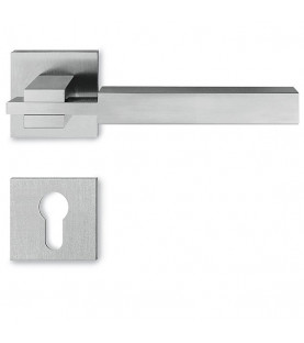 Handle METAL CUBE MC 02 with rosette